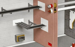 fire protection cutaway