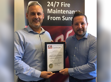 Surefire awarded BAFE