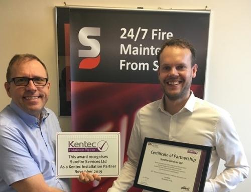 Surefire become Kentec Installation Partners