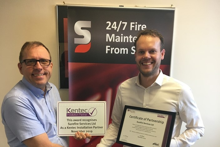 Surefire become Kentec Installation Partners